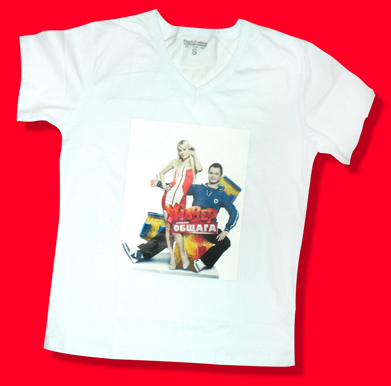 Печать на футболках москва 11